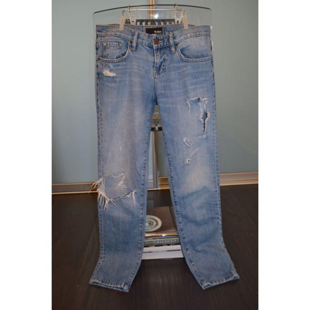 Big Blue Boyfriend Jeans
