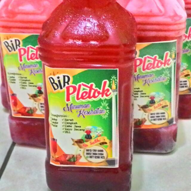 Bir Pletok Khas Betawi Food Drinks Non Alcoholic Beverages On