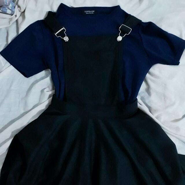 Black Jumper Skirt
