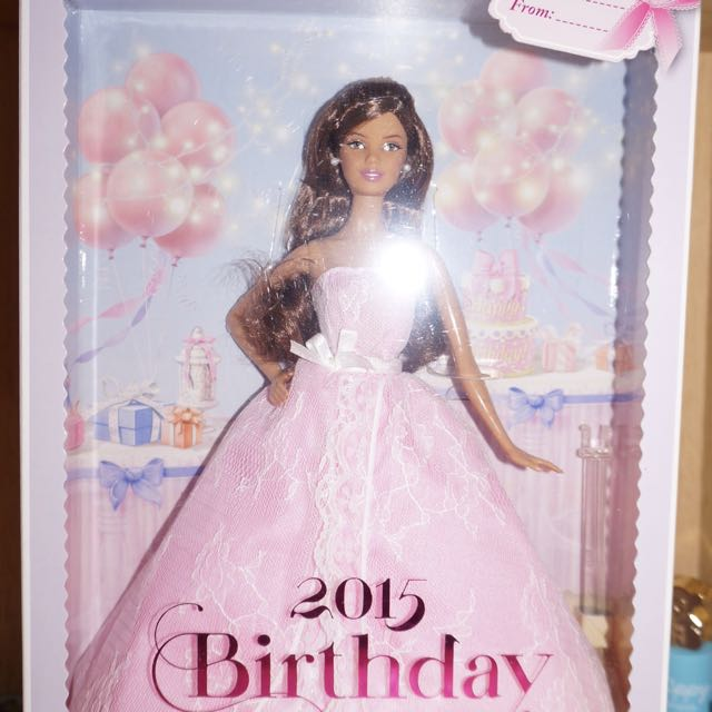 BN Barbie Latina Birthday Wishes 2015 Toys Games Bricks Figurines On Carousell