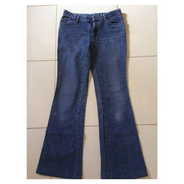 Bootcut jeans woman