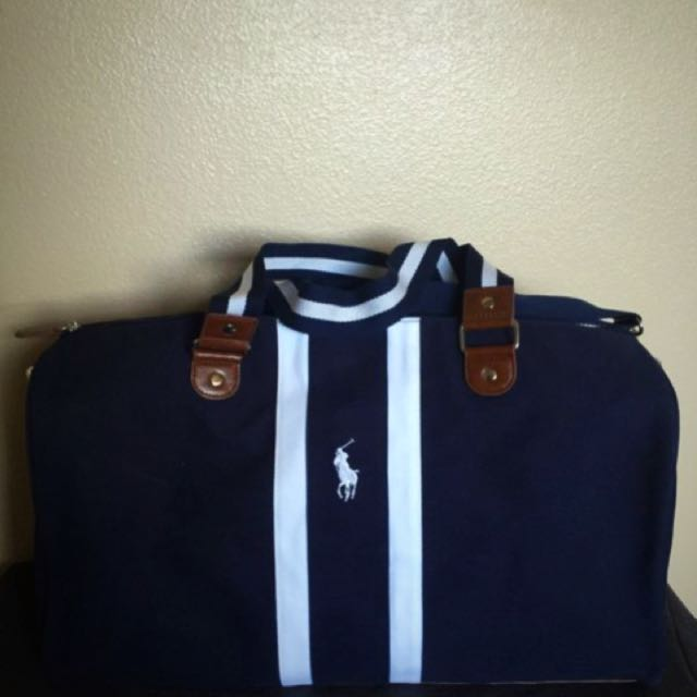 adec7cc1fa7 Brand New In Bag  100% Authentic Polo Ralph Lauren Duffle Bag, Navy ...