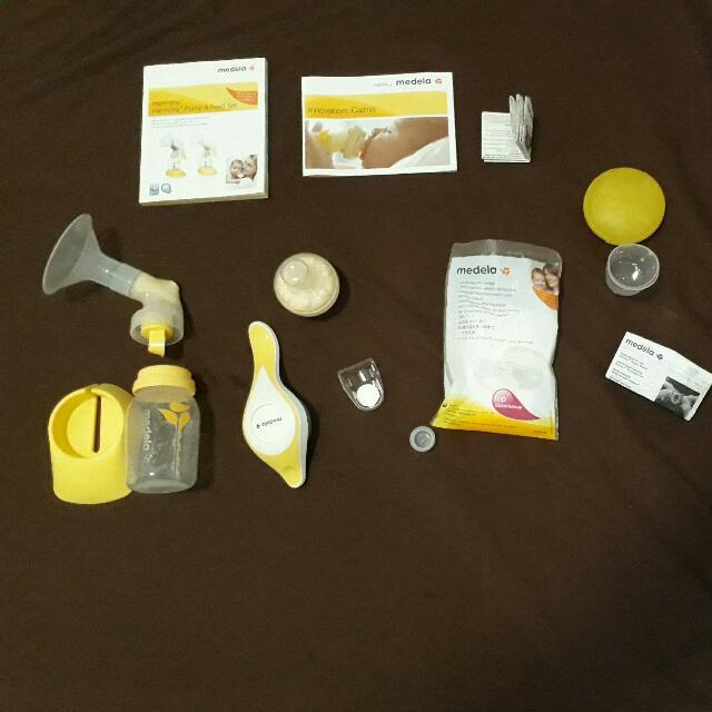 PROMO!! Medela Harmony + cup feeder n breast shield