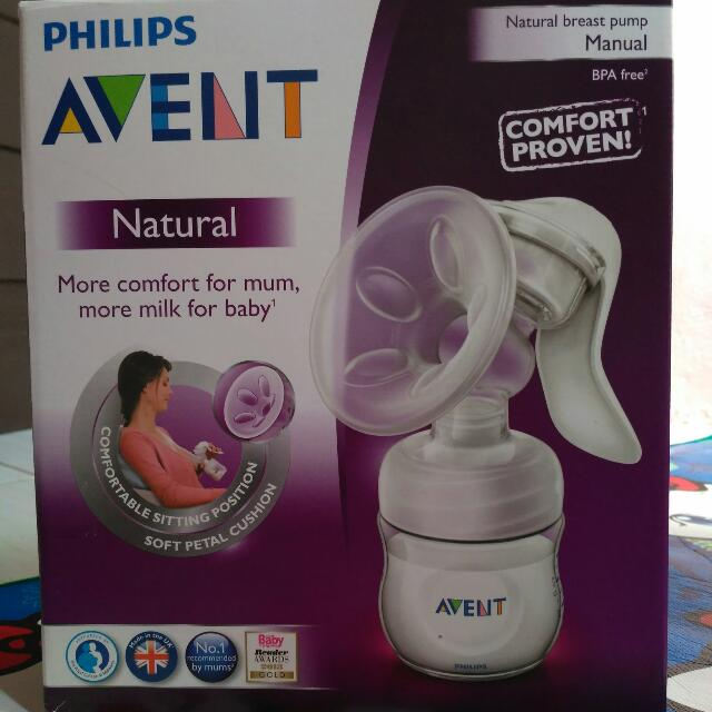 Breastpump Avent Natural Manual