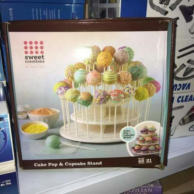 Cake Pop and Cupcake Stand in One (2 in 1)