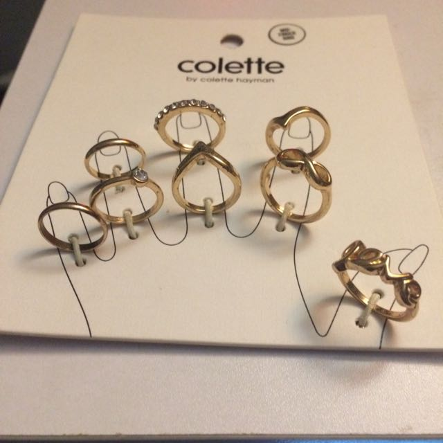 Collette Mid Rings