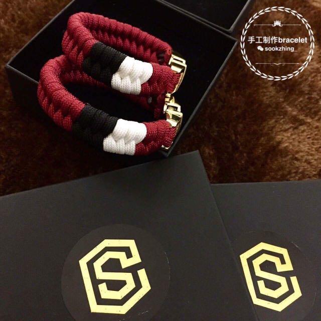 Customised Parachord Bracelet