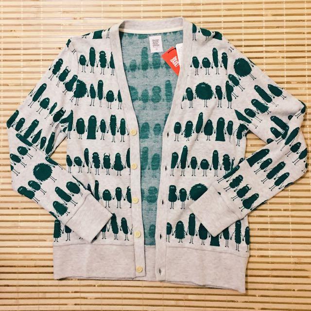 日牌Design Tshirts Store graniph 小怪獸針織外套