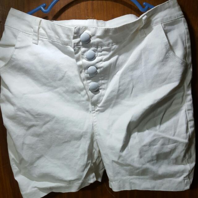 Dirty White Shorts