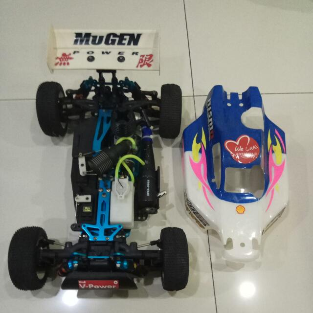 Duratrax AXIS 1/8 Racing Buggy With Spares