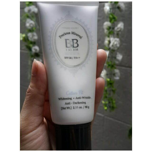 ETUDE HOUSE Precious Mineral BB Cream SPF 30/PA++   Original💯 Exp : 2019 Shade : No 2 Light Beige Isi Masih 95% Jual Karena Terlalu Putih Di Muka Ku Ongkir Ditanggung Pembeli Fix Price
