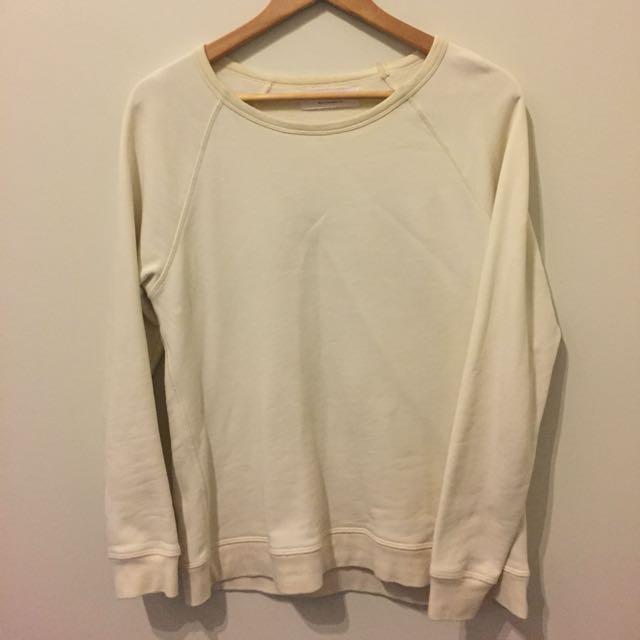 Everlane Cream Sweater Size Small