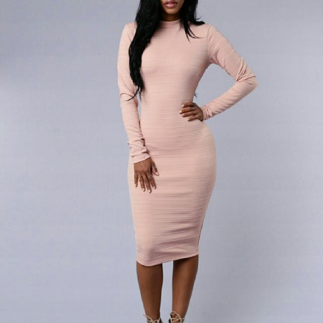Fashion Nova Midi Dress
