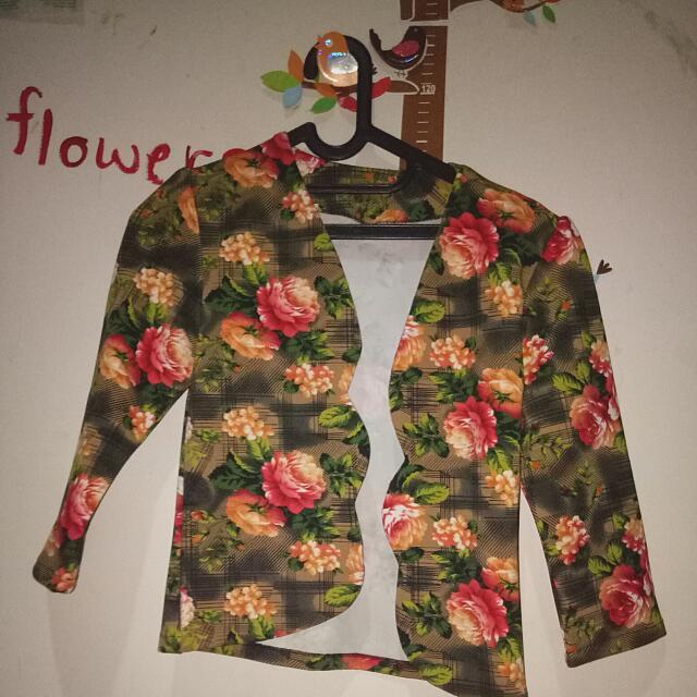 Flower Blazer