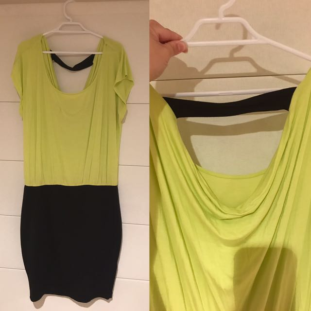 Forever 21 Neon Green xl Dress