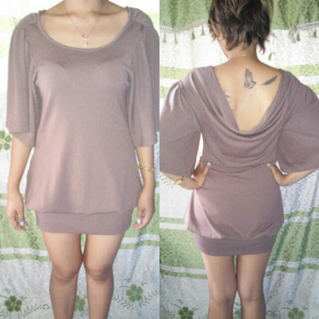 SALE:Galfit Brown Dress