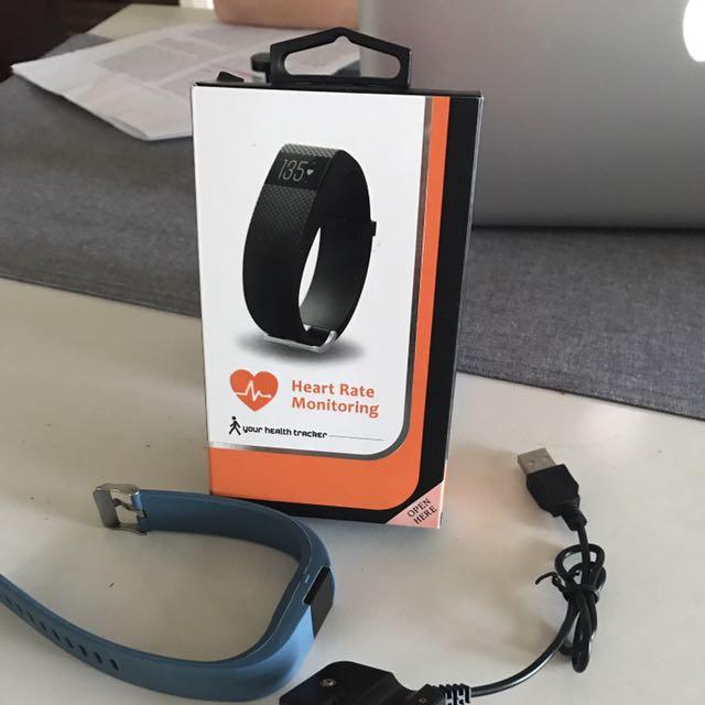 Heart Rate/pedometer Wrist Watch