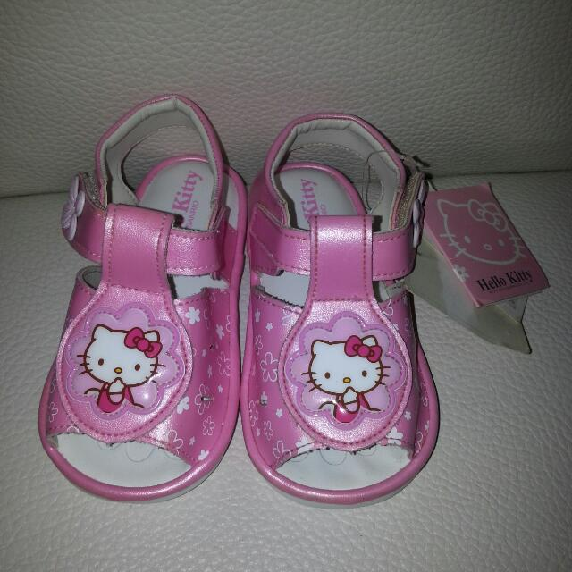 Hello Kitty正品15號啾啾涼鞋