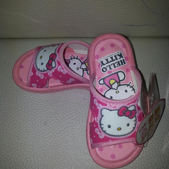 Hello Kitty正品啾啾拖鞋