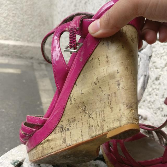 Pink Wedges Wedge Heels For Only 500 Pesos