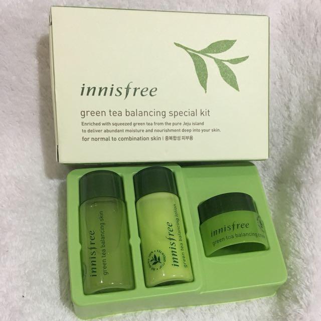 Innisfree - Green Tea Balancing Special kit