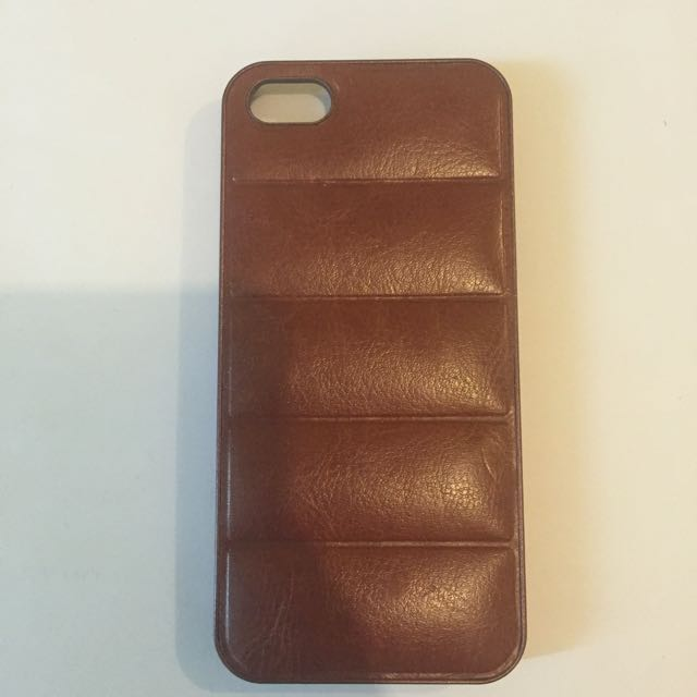iPhone 5/5S Faux Leather Case