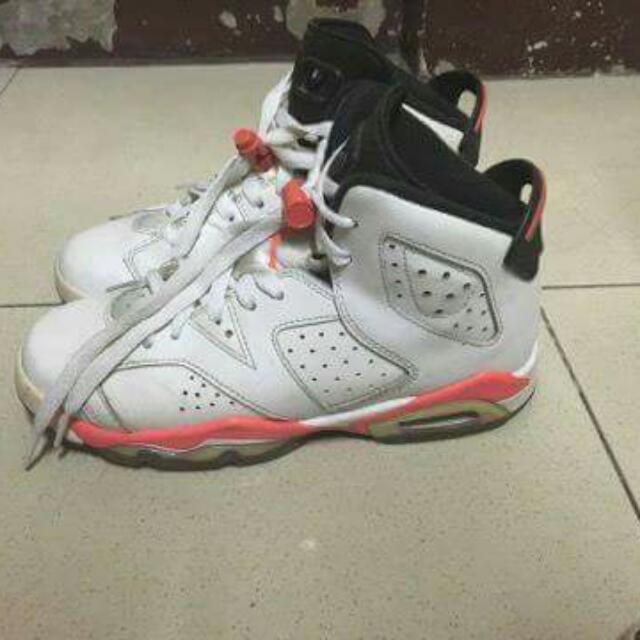Jordan 6 White Infrared ✔
