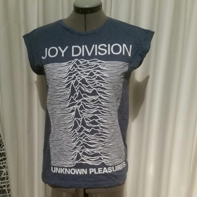 Joy Division Blue Tee Size 8/10
