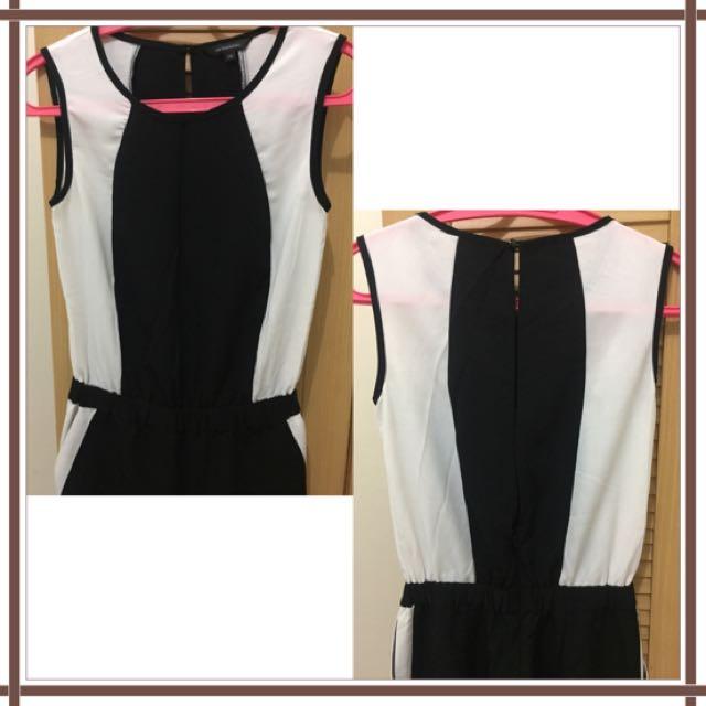 Jumpsuit Executive Black&White