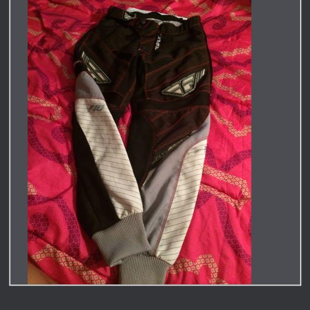 Kids FlyMotocross Race Pants