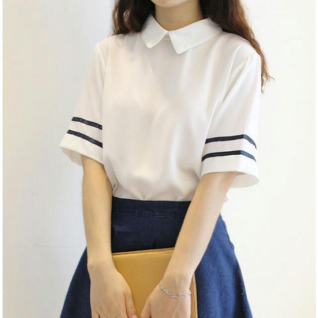 Korean Striped Shirt