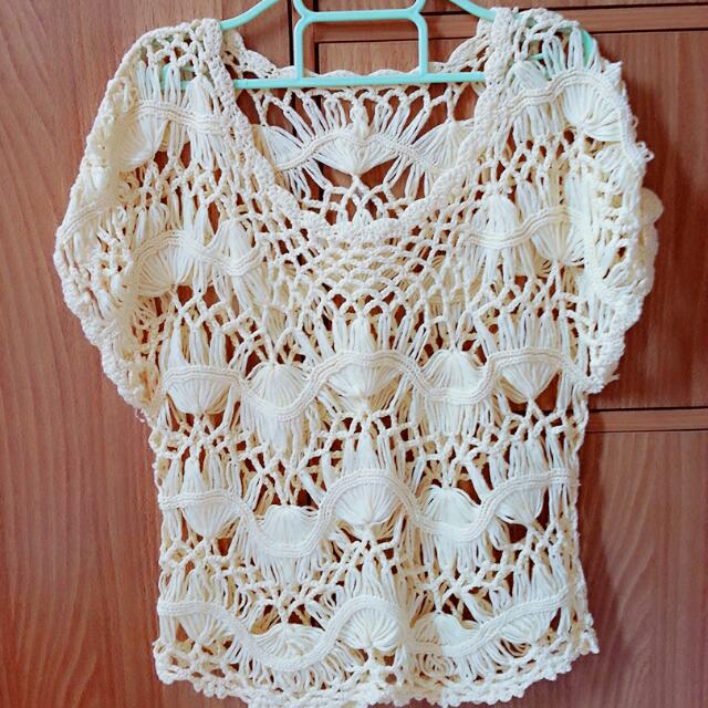 Lacy top/Sexy Cover Up