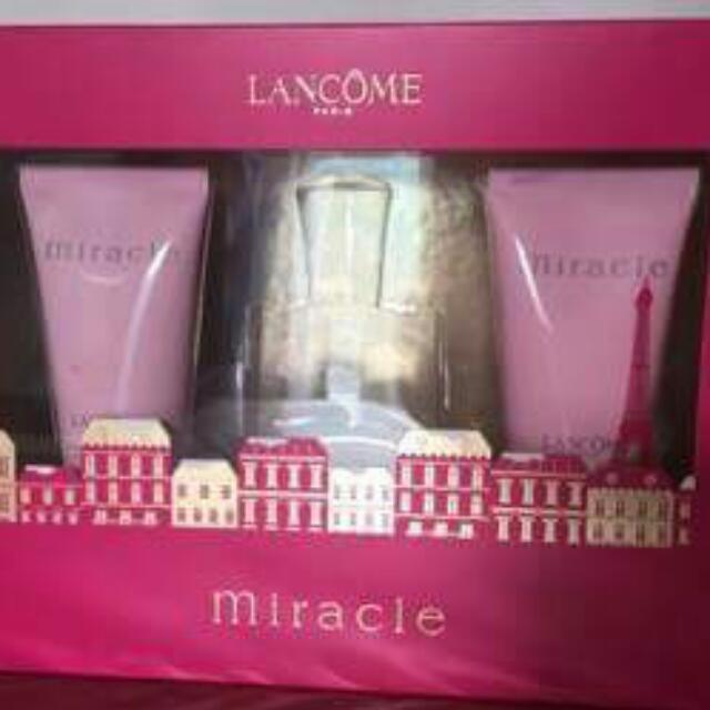 lancome miracle set