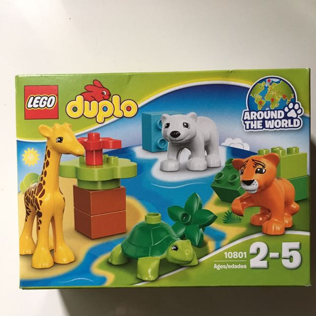 Lego Duplo Around The World Blocks Babies Kids Childrens Toys