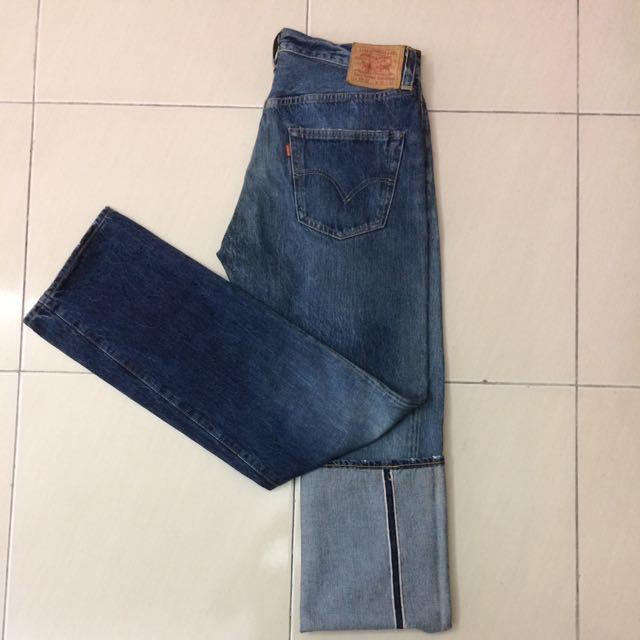 LVC 501XX Broken Down Jeans