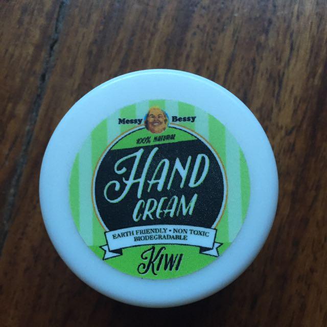Messy Bessy Hand Cream