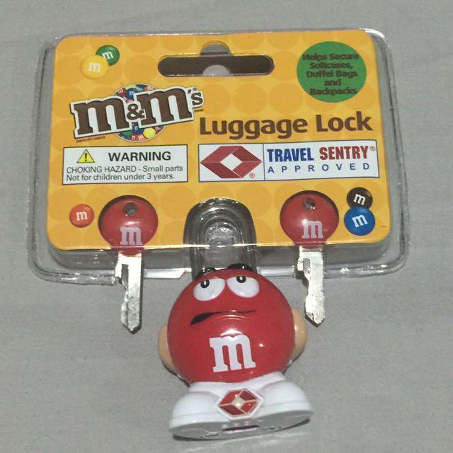 M&M's Luggage Lock