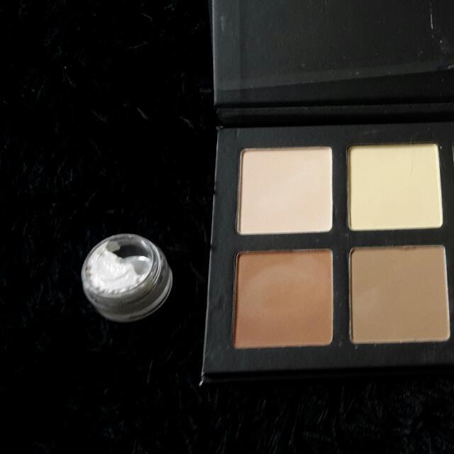 New Contour Kit, Highlighting Stick And Mac Strobe Cream