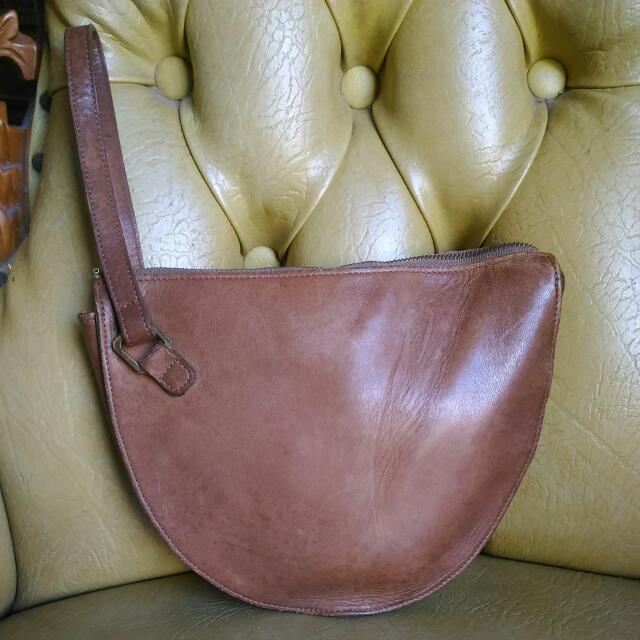 Nino Tacchini Genuine Leather Pouch