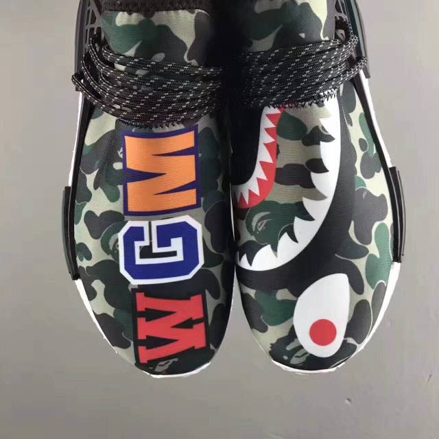 super popular 25c92 7b558 NMD HUMAN RACE X OFF WHITE AND NMD HUMAN RACE X BAPE, Men's ...