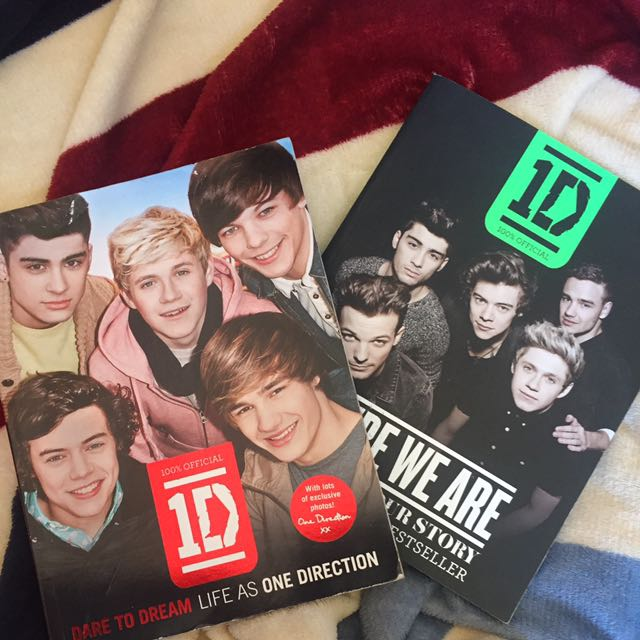 ONE DIRECTION YEARBOOKS