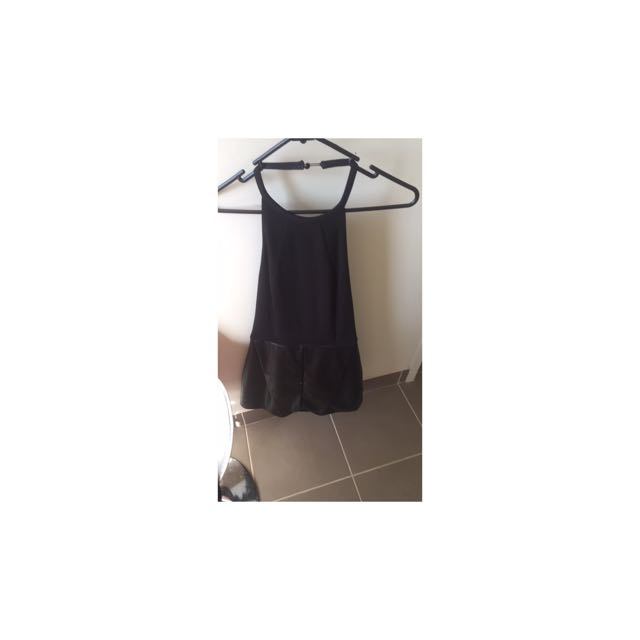 Playsuit With Open Back
