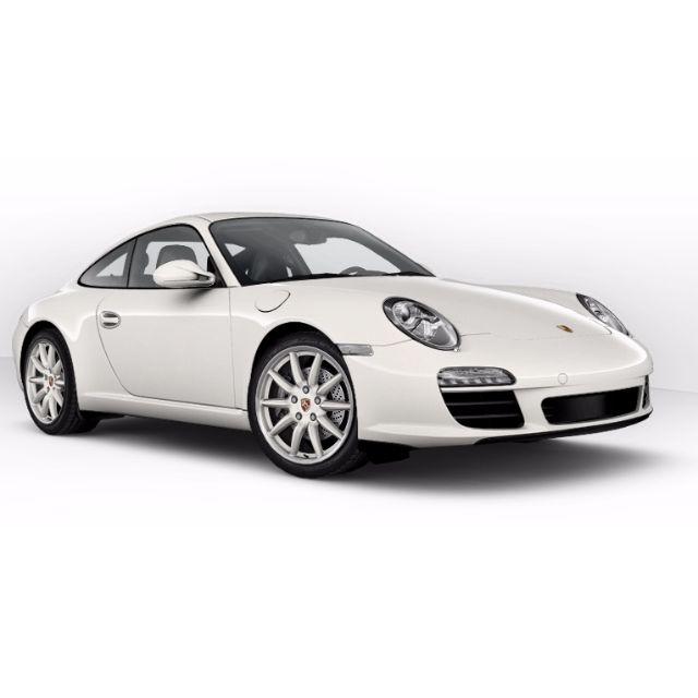 Porsche 991 997 Steering Wheel Black Leather