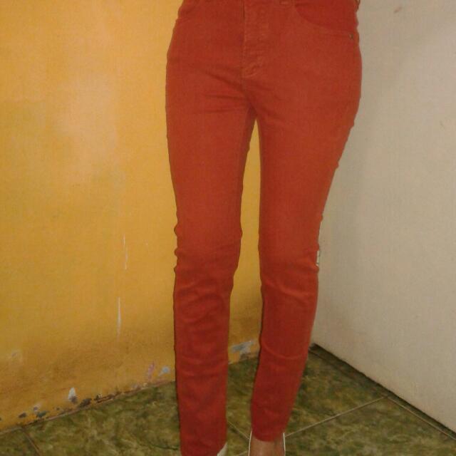 Pre❤d Celana Juiset Ladies Wrna Orange Wrna Sdh Agak Blur Ukuran S Tapi Kya Ukuran M Mash Lyak Dipake. Dijual Krna Sdh Beralih Syar'i ☺😁