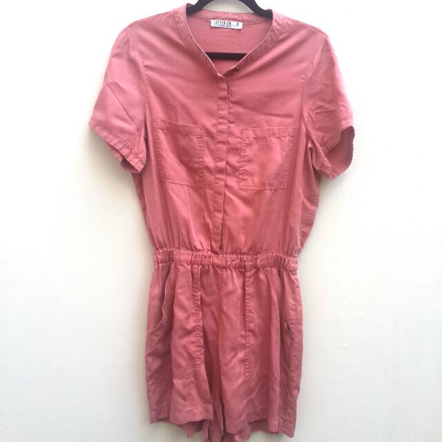 Preloved Cotton On Playsuit/ Jumpsuit/ Terusan Celana Pendek