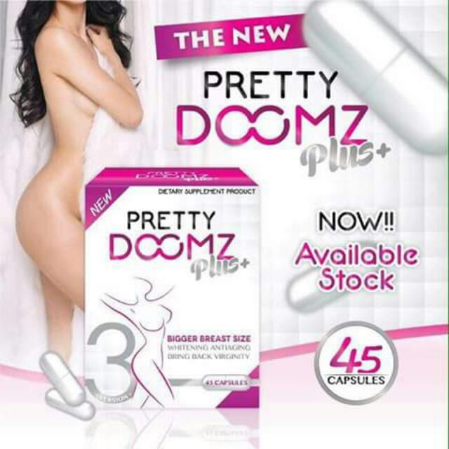 PRETTY DOOMZ plus (breast enhancer)