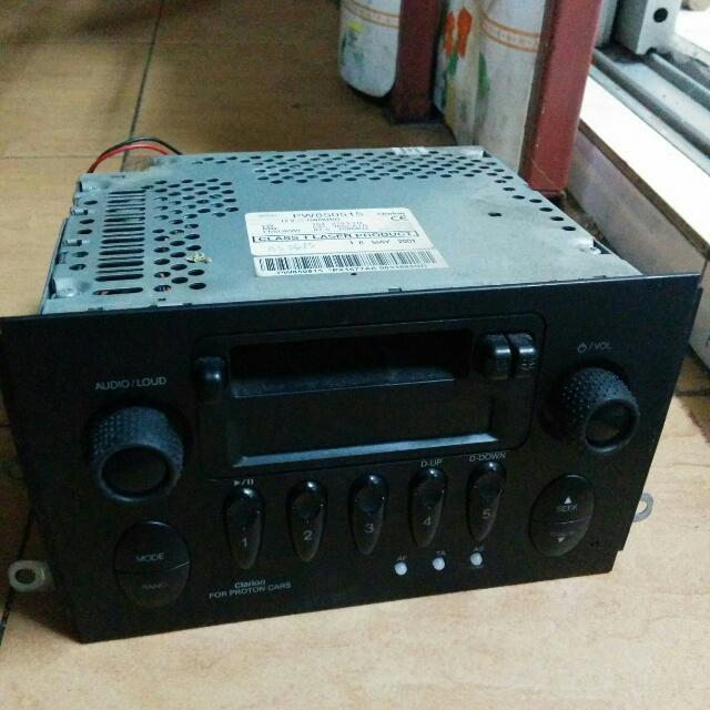 Proton Waja Original Clarion Radio (Broken/Rosak), Auto Accessories ...