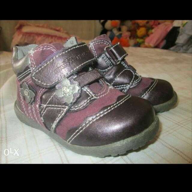 Quickly Leather Half-boots Girls Shoes For 12 - 24mos