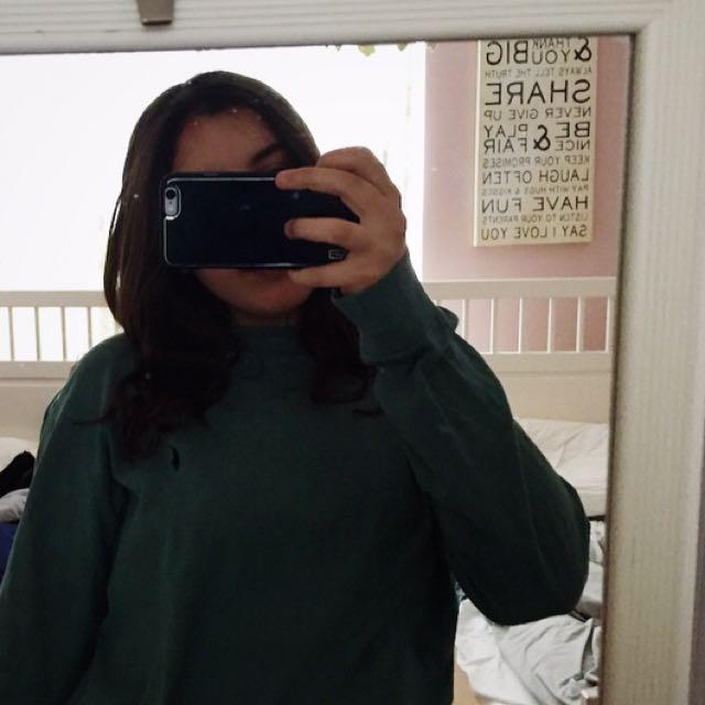 Ralph Lauren Long sleeved Green Top