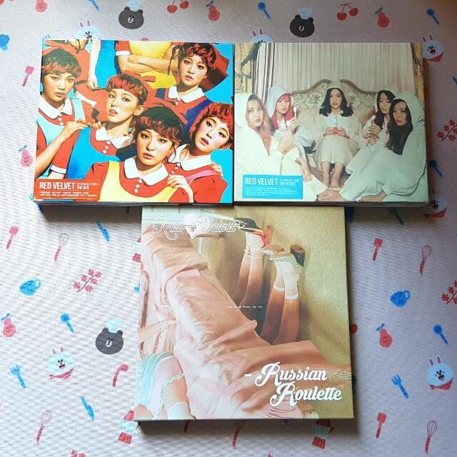 RedVelvet Albums